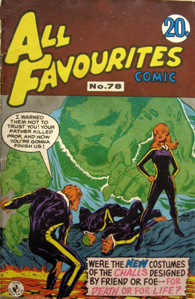 Cover for All Favourites Comic (K. G. Murray, 1960 series) #78