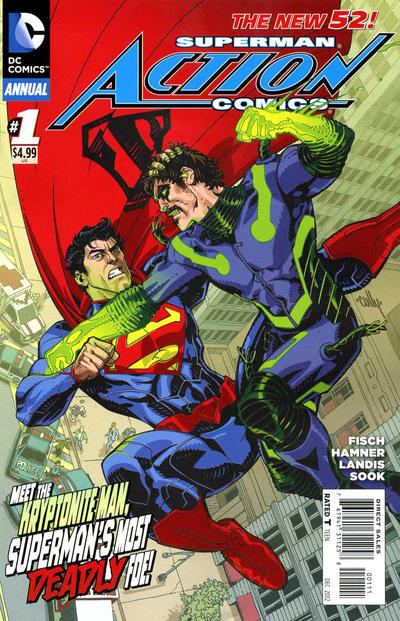 Cover for Action Comics Annual (DC, 2012 series) #1