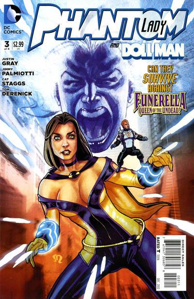 Cover for Phantom Lady (DC, 2012 series) #3