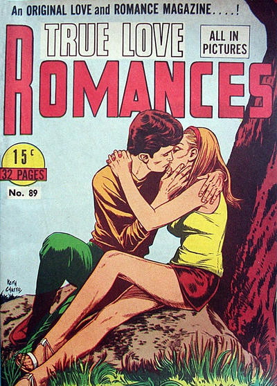 Cover for True Love Romances (Yaffa / Page, 1970 series) #89