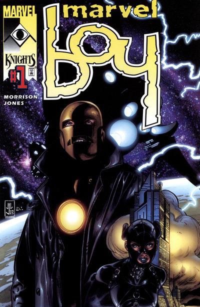 Cover for Marvel Boy (Marvel, 2000 series) #1 [Variant Cover by J.G. Jones]