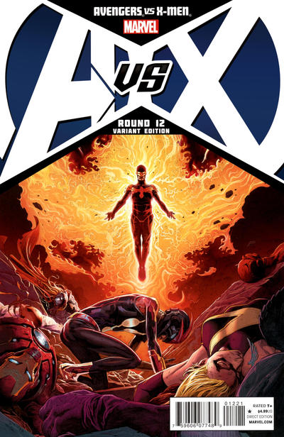 Cover for Avengers vs. X-Men (Marvel, 2012 series) #12 [Opeña Variant]