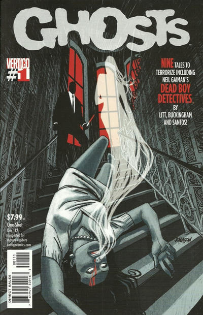 Cover for Ghosts (DC, 2012 series) #1