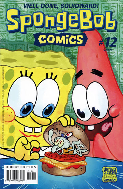 Cover for SpongeBob Comics (United Plankton Pictures, Inc., 2011 series) #12