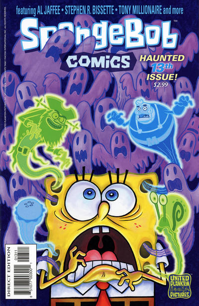 Cover for SpongeBob Comics (United Plankton Pictures, Inc., 2011 series) #13