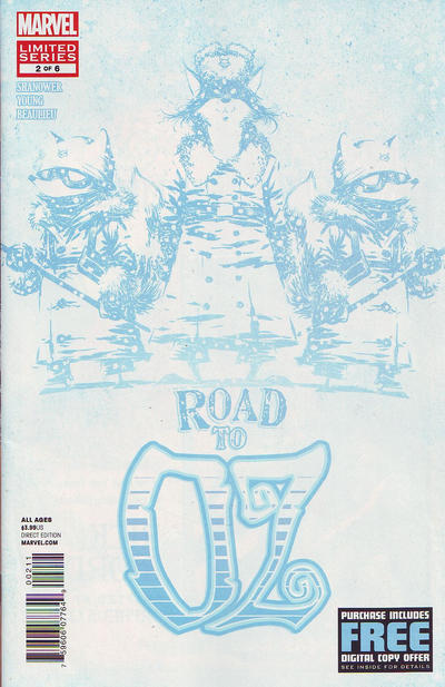 Cover for Road to Oz (Marvel, 2012 series) #2