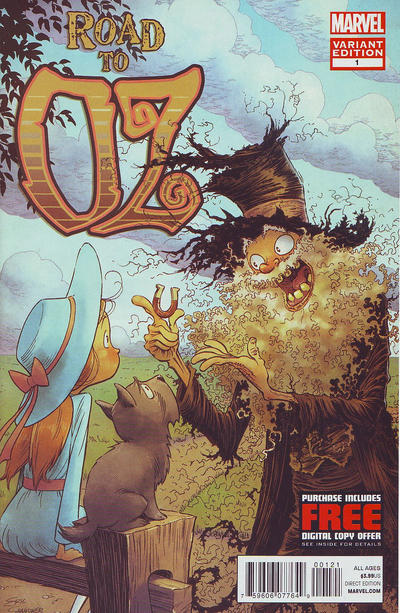 Cover for Road to Oz (Marvel, 2012 series) #1 [Eric Shanower Cover Variant]