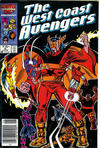 Cover for West Coast Avengers (Marvel, 1985 series) #9 [Newsstand]