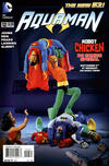 "Cover for Aquaman (DC, 2011 series) #12 [""Robot Chicken"" Photo Variant Cover]"