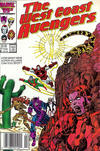 Cover for West Coast Avengers (Marvel, 1985 series) #17 [Newsstand]