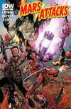 Cover Thumbnail for Mars Attacks (2012 series) #5 [Regular Cover]