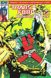 Cover Thumbnail for Transformers: Regeneration One (2012 series) #85 [Cover RI - Incentive Geoff Senior Variant]