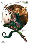 Cover Thumbnail for Grimm Fairy Tales Presents Robyn Hood (2012 series) #1 [cover h]
