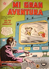 Cover for Mi Gran Aventura (Editorial Novaro, 1960 series) #37