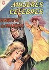 Cover for Mujeres Célebres (Editorial Novaro, 1961 series) #53
