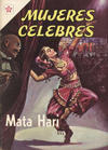 Cover for Mujeres Célebres (Editorial Novaro, 1961 series) #29