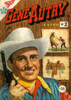 Cover for Gene Autry (Editorial Novaro, 1954 series) #2