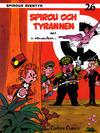 Cover for Spirous äventyr (Carlsen/if [SE], 1974 series) #26 - Spirou och tyrannen del 1