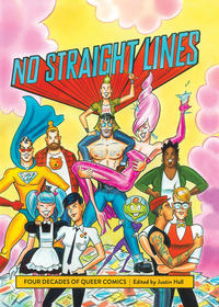 Cover Thumbnail for No Straight Lines: Four Decades of Queer Comics (Fantagraphics, 2012 series)
