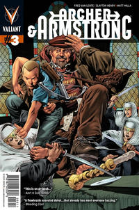 Cover Thumbnail for Archer and Armstrong (Valiant Entertainment, 2012 series) #3 [Cover A - Arturo Lozzi]