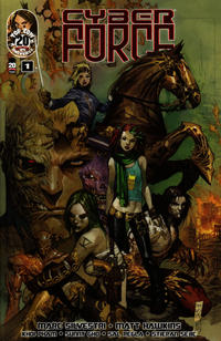 Cover Thumbnail for Cyber Force (Image, 2012 series) #1 [Cover A]
