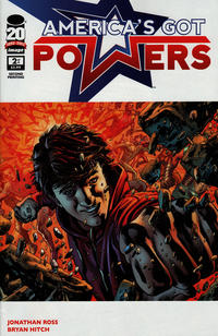 Cover Thumbnail for America's Got Powers (Image, 2012 series) #2 [2nd printing]