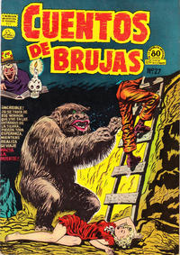 Cover Thumbnail for Cuentos de Brujas (Editora de Periódicos La Prensa S.C.L., 1951 series) #27