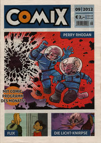 Cover Thumbnail for Comix (JNK, 2010 series) #9/2012