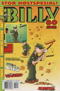 Cover Thumbnail for Billy (Hjemmet / Egmont, 1998 series) #20/2012