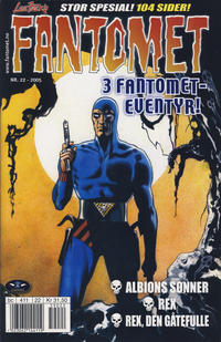 Cover for Fantomet (Hjemmet / Egmont, 1998 series) #22/2005