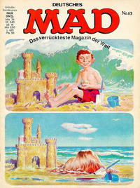 Cover Thumbnail for Mad (BSV - Williams, 1967 series) #63