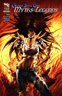 Cover Thumbnail for Grimm Fairy Tales Myths & Legends (Zenescope Entertainment, 2011 series) #21 [Cover A Keu Cha]