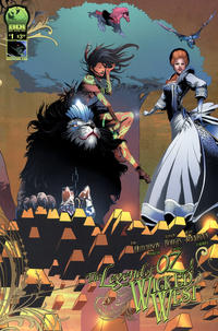 Cover Thumbnail for Legend of Oz: The Wicked West (Big Dog Ink, 2012 series) #1 [Cover C - Alisson Borges]