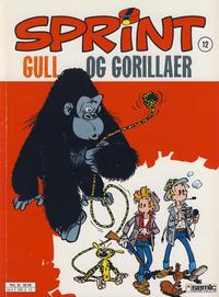 Cover Thumbnail for Sprint (Semic, 1986 series) #12 - Gull og gorillaer