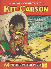 Cover Thumbnail for Cowboy Comics (Amalgamated Press, 1950 series) #94