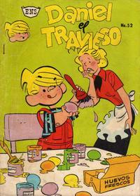 Cover Thumbnail for Daniel el Travieso (Editorial Novaro, 1964 series) #52