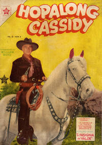 Cover Thumbnail for Hopalong Cassidy (Editorial Novaro, 1952 series) #6