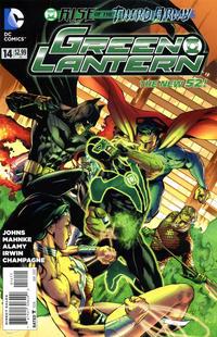 Cover Thumbnail for Green Lantern (DC, 2011 series) #14