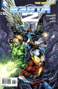 Cover for Earth 2 (DC, 2012 series) #6