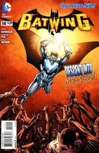 Cover Thumbnail for Batwing (DC, 2011 series) #14