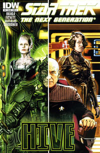 Cover Thumbnail for Star Trek TNG: Hive (IDW, 2012 series) #2 [Cover A - Joe Corroney]