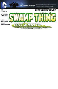 Cover Thumbnail for Swamp Thing (DC, 2011 series) #14 [We Can Be Heroes Blank Cover]