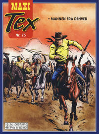 Cover Thumbnail for Maxi Tex (Hjemmet / Egmont, 2008 series) #25