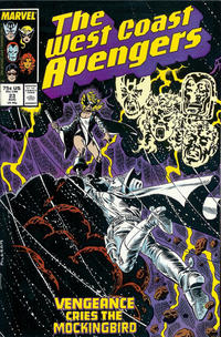 Cover Thumbnail for West Coast Avengers (Marvel, 1985 series) #23