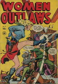 Cover for Women Outlaws (Superior, 1948 ? series) #6