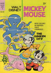 Cover Thumbnail for Walt Disney's Mickey Mouse (W. G. Publications; Wogan Publications, 1956 series) #229