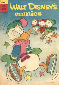 Cover Thumbnail for Walt Disney's Comics (W. G. Publications; Wogan Publications, 1946 series) #v12#10 (142)