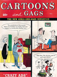 Cover Thumbnail for Cartoons and Gags (Marvel, 1959 series) #v6#5