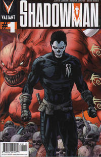 Cover Thumbnail for Shadowman (Valiant Entertainment, 2012 series) #1 [Cover A - Patrick Zircher]