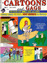 Cover Thumbnail for Cartoons and Gags (Marvel, 1959 series) #v18#2